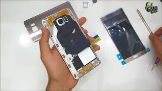 Galaxy Note 5 LCD Screen Replacement ║ How To Take Apart -- Gsm Guide