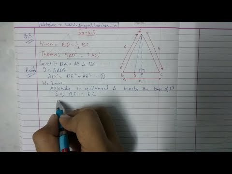 Xxx Mp4 Chapter 6 Exercise 6 5 Q15 Class 10 Triangles Math Tutor 3gp Sex