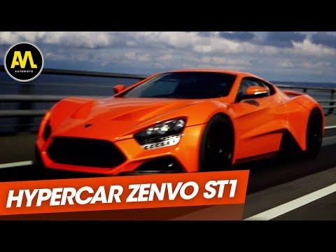 Zenvo ST1 l hypercar danois de 1104 chevaux