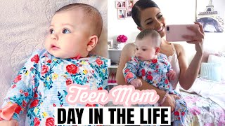 2019♡ Teen Mom Day In The Life! Young Mommy Of 4!!