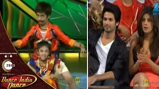 Shahid and Priyanka STUNNED With This Performance - DID L