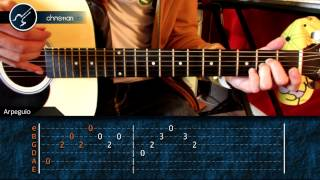 """Cómo tocar """"Y Cómo Es El"""" de Jose Luis Perales en Guitarra Acústica (HD) Tutorial - Christianvib"""