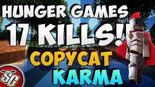 Hunger Games - 17 Kills! Copycat Karma | Minecraft
