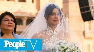 Watch Priyanka Chopra's Dramatic Walk Down The Aisle To Marry Nick Jonas | PeopleTV