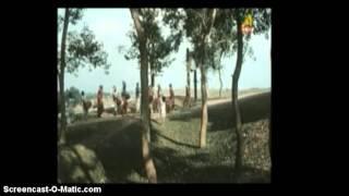 Traveling Folk singers (Natuas of Purulia) in Buddhadeb Dasgupta's film Uttara (The Wrestlers, 2000)