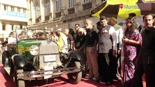 Vintage Car Rally held in Fort | Mumbai Live