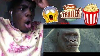 RAMPAGE - OFFICIAL TRAILER 1 [HD] REACTION!!!
