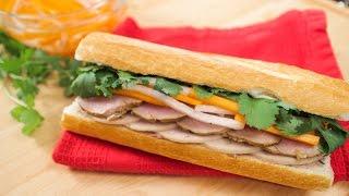 Banh Mi Sandwich Recipe W/ Lemongrass Pork - Pai's Kitchen