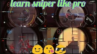 Mc5:-Learn sniper like pro 😎 without controller 🎮 | tips and techniques about controls HUD