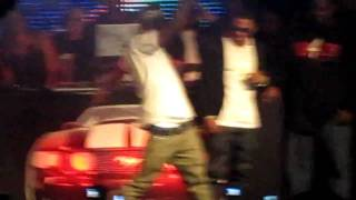 Chris Brown Dougie at Nelly's album release party