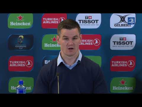 Johnny Sexton's Champions Cup Semi-Final post-match reaction | Leinster v Scarlets