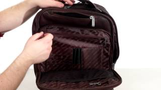 Kenneth Cole Reaction Back-Stage Access Colombian Leather Computer Backpack  SKU:8489759