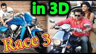 First Look - Race 3 - Salman Khan - Jacqueline Fernandez - Bollywood Upcoming Film