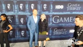 Owen Teal arriving at the Game Of Thrones Season 6 Premiere in Los Angeles