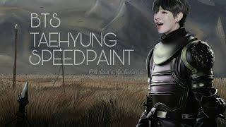 [ BTS / 방탄소년단 ] Taehyung || Speedpaint (Game of Thrones inspired)