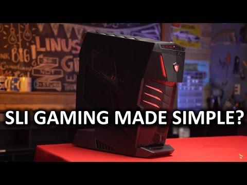 No Compromises Barebones PC MSI Aegis Ti Review