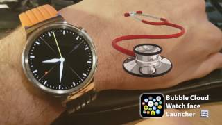 Paramedic watch face: ambient mode with seconds for medical professionals, doctors (WearOS)