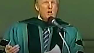 Trump Advises Graduates to Overcome 'Concrete Walls' At All Costs in 2004 Commencement Speech