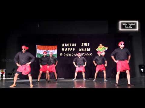 [19] - Special Dance by Kactus Men - Kactus Onam 2015