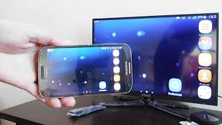 اظهار شاشة الهاتف على التلفاز بدون كيبل ولا تطبيق