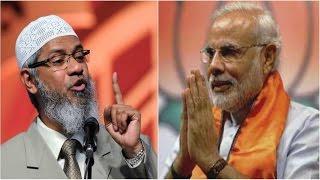 dr zakir naik vs modi, translated in bangla