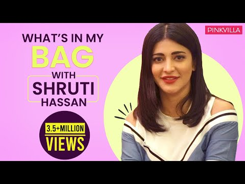 Xxx Mp4 What S In My Bag With Shruti Haasan S02E08 Fashion Pinkvilla 3gp Sex