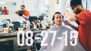 Off to the Barber Shop | 8/27/15 | Vlog