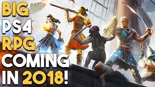 BIG RPG COMING TO PS4 in 2018! AWESOME PS4 SLIM DEAL!