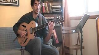 David Gauthier-cours no. 10 la Gamme diminuée.à la guitare jazz