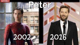 Antes y despues - SPIDERMAN 2002 - 2016