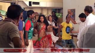 আবারো খোলামেলা বাংলা সিনেমা | Mar Chokka | Bangla cinema shooting | Bangla Movie
