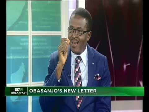 TVC Breakfast January 21st, 2019|Obasanjo's New Letter