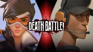 Tracer VS Scout | DEATH BATTLE! (Overwatch VS Team Fortress 2)
