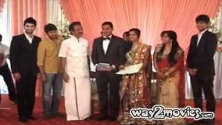 Actor Murali's Daughter's Wedding Reception