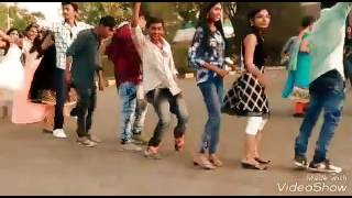 Janu Collage bhanva jateli   GUJARATI TIMLI 2017 ITM UNIVERSITY GIRLS DANCING