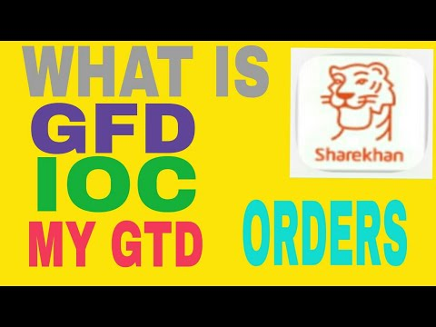 Xxx Mp4 What Is GFD IOC And MY GTD Orders 3gp Sex
