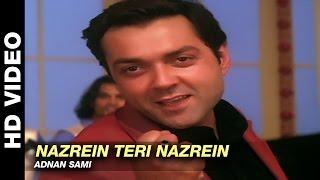 Nazrein Teri Nazrein - Jurm | Adnan Sami | Bobby Deol & Lara Dutta