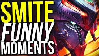 HOW DID WE WIN THIS? - SMITE FUNNY MOMENTS