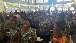 Kwaya ya Mt. Maurus II katika sherehe ya Pasaka 2018