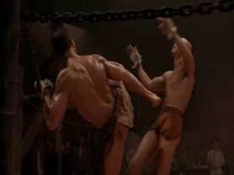 Kickboxer Jean Claude Van Damme vs Tong Po