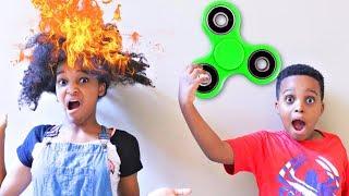 Fidget Spinner Makes Shasha