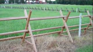 Tennessee buck fence
