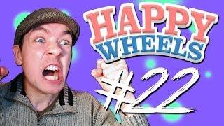 Happy Wheels - Part 22   LOOOUUUD NOISES!!!