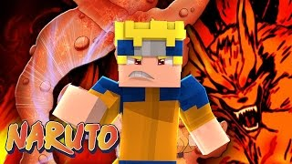 Minecraft : Naruto C #7 - NARUTO RAPOSA DE 9 CAUDAS