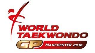 WT WORLD TAEKWONDO GRAND PRIX 2018 Day 1 Session 2 Upcoming Matches