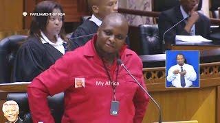 Floyd Shivambu  EFF Giving Free Education And Advice To Parliament