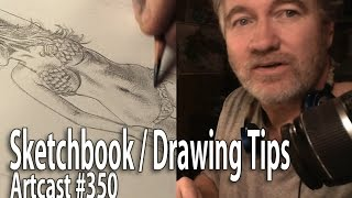 Sketchbook And Drawing Tips / Art Tutorial