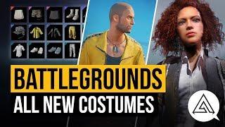 PUBG | All New Costumes - Gamescom Invitational Crates (Battlegrounds)