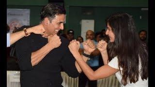 Akshay Kumar & Katrina Kaif At World's Biggest Kudo Tournament