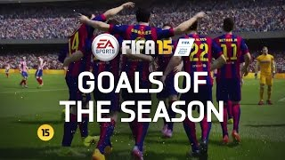 FIFA 15 - Best Goals of the Season